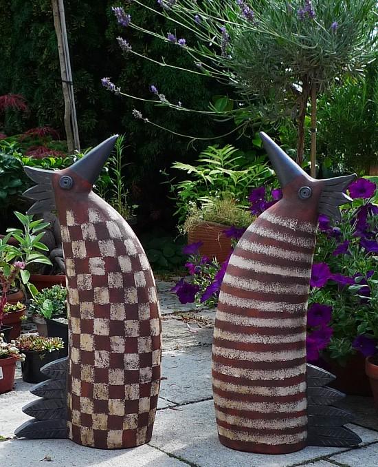 keramikfiguren fur garten – greengrill, Terrassen ideen