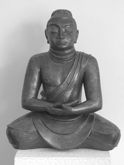 buddha figur margit hohenberger keramik kunst. Black Bedroom Furniture Sets. Home Design Ideas