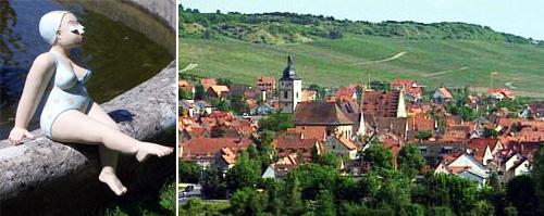 Badennixen in Sommerhausen 2009