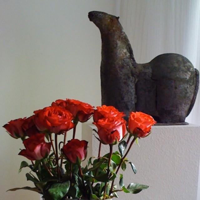 Keramik-Pferd von Claus Tittmann
