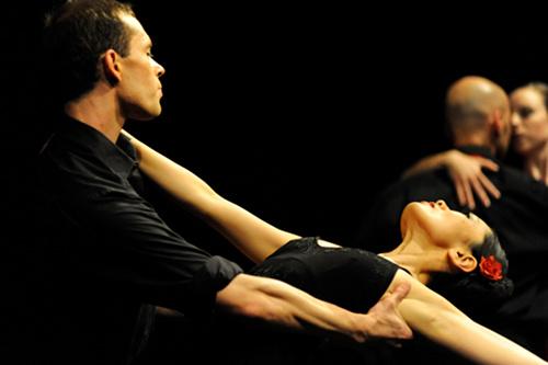 Balletfoto von Heidi Innmann