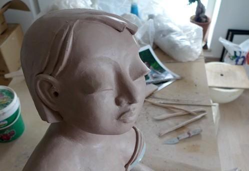 Badenixen: Veronica in Arbeit