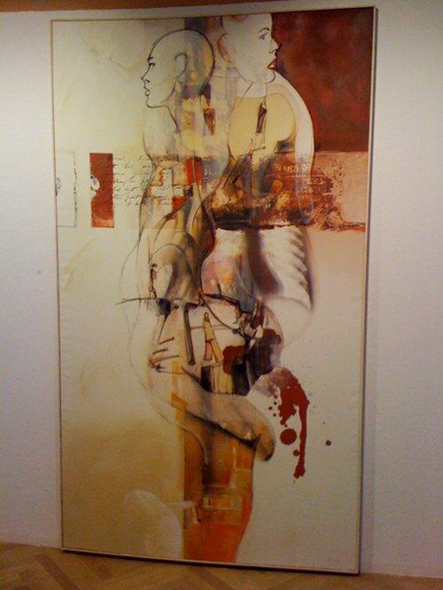 Dominik Lommer Zwei Leben Kunstverein Hof 2010