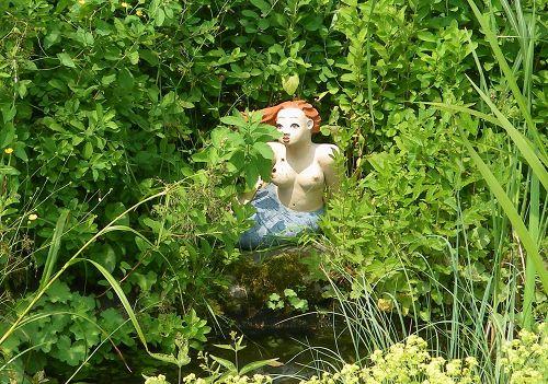 Badenixe Gartenfigur in Selb 2010