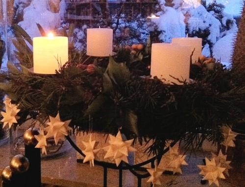 Adventskranz Weihnachten 2010