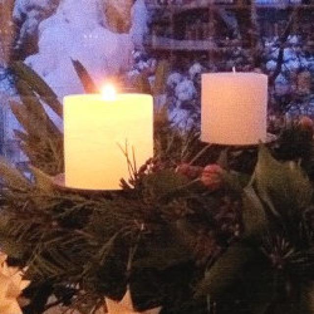 Advent – besinnliche Zeit mit Adventskranz
