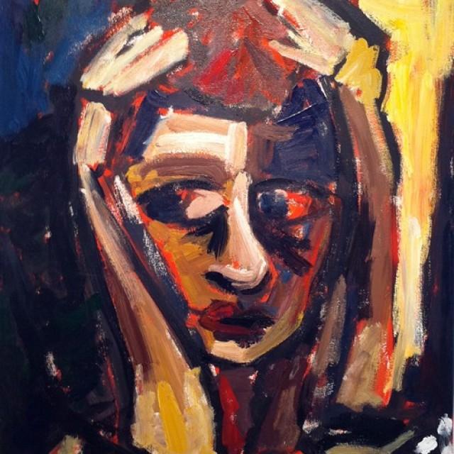 Tino Rex: Selbstbildnis in Öl