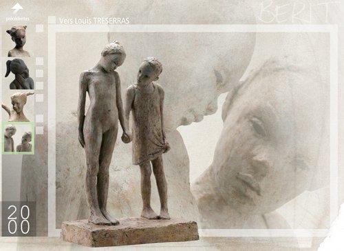 Berit Hildre Skulpturen - Bildschirmfoto