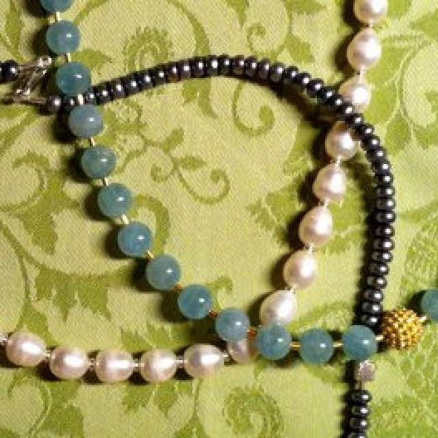 Perlenketten für das Frühjahr