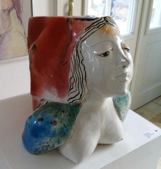 Keramik Feyence von Sigrid Frey