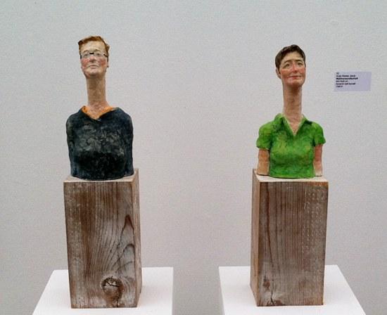 Keramik kalt bemalt von Antje Wenke Jakob