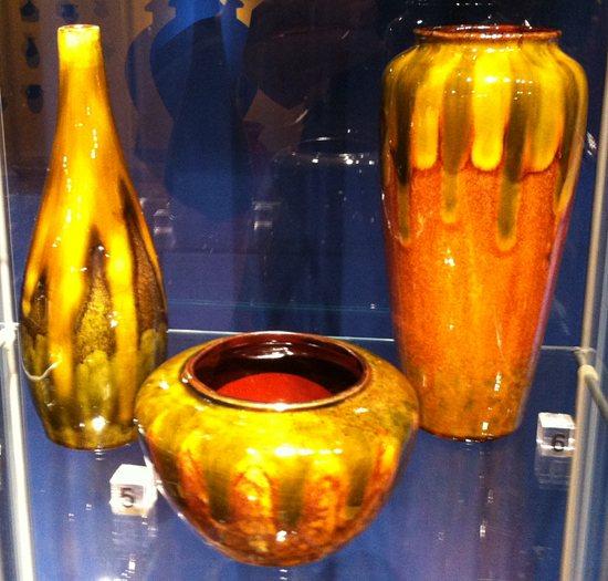 Vasen golden glänzend - Keramik und Glasur von Theodor Keerl