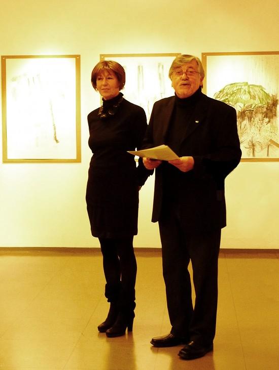 Die Künstler: Margit Hohenberger und Udo Rödel 2012