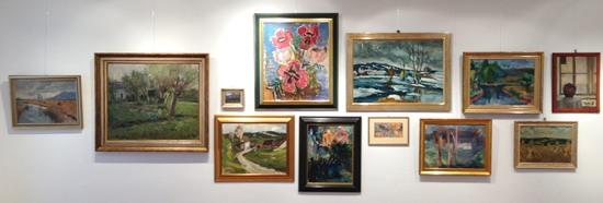 Ausstellung zu Ehren Edmund Heidenreich, Schwarzenbacher Kunstsammler