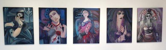 Bilder von Marion Lucka: Kunstgalerie Altes Rathaus