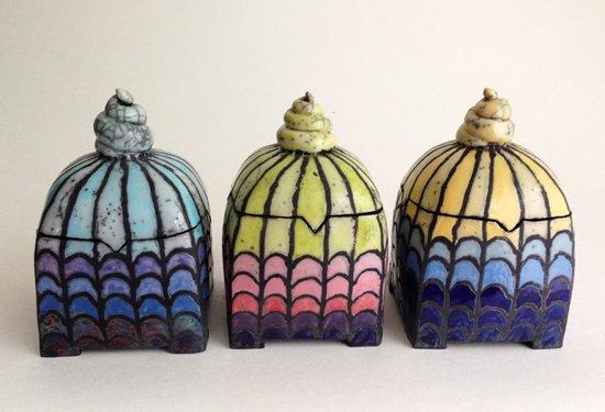 drei-keramik-dosen-mit-duncan-glasuren