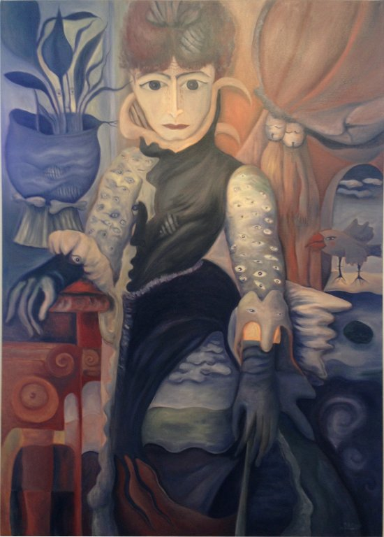 Marion Lucka: Mächtige - Frauenportrait