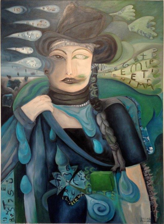 Mutige, Bild von Marion Lucka - Frauenportrait