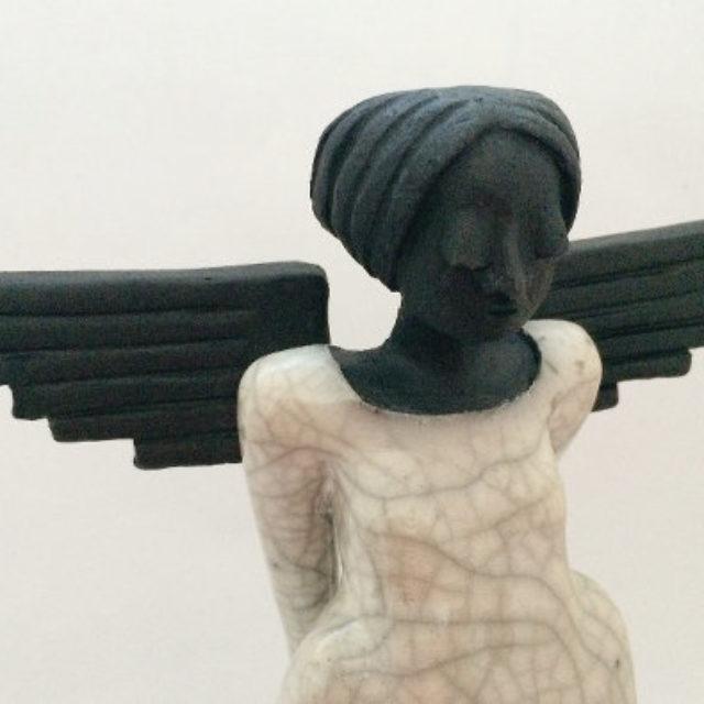 Eine Engelfigur sein…