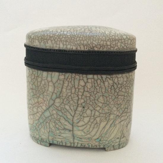Keramik Dose mit Duncan Glasur