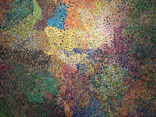 gemalte-plastik-dreissigtausend-punkte-wolfgang-stefan
