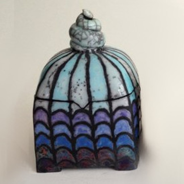 Drei Keramik Dosen