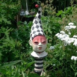 Gartenstecker Harlekin