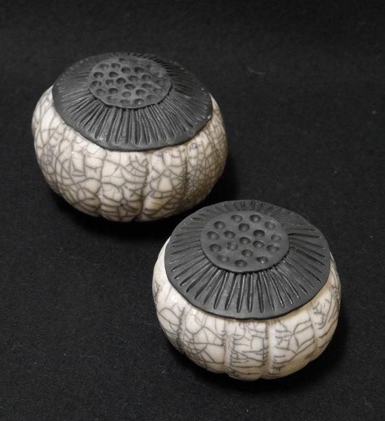 kunst-objekt-raku-keramik-samenkapsel
