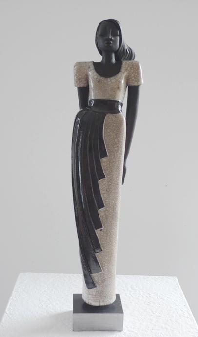 Carla Raku-Figur Keramik