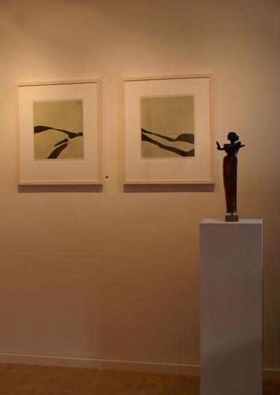 Keramik Kunst Margit Hohenberger 2007 Raku-Figur