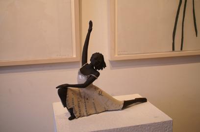 Keramik Kunst Margit Hohenberger 2007 Die Tanzende