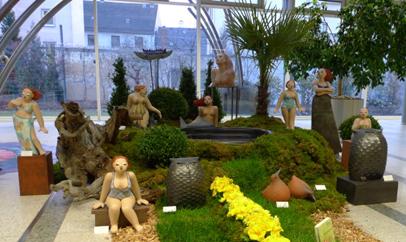 Keramik Kunst Margit Hohenberger 2009 Panorama