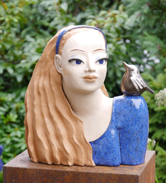 sommermaedchen-keramikbueste