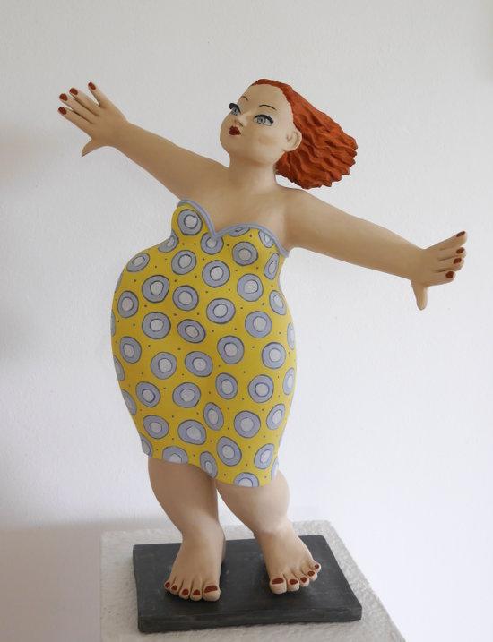Gartenfigur Tanzende von Margit Hohenberger