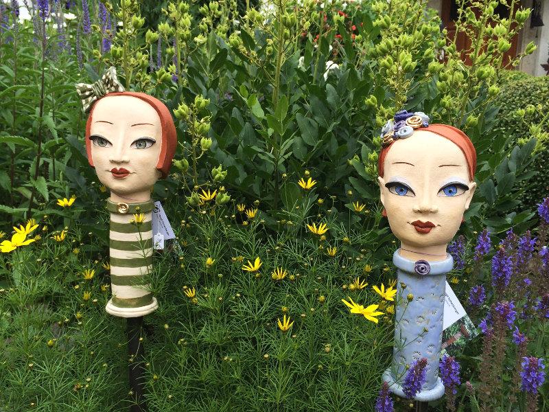 Ausgefallene Gartendeko - Die Schwestern