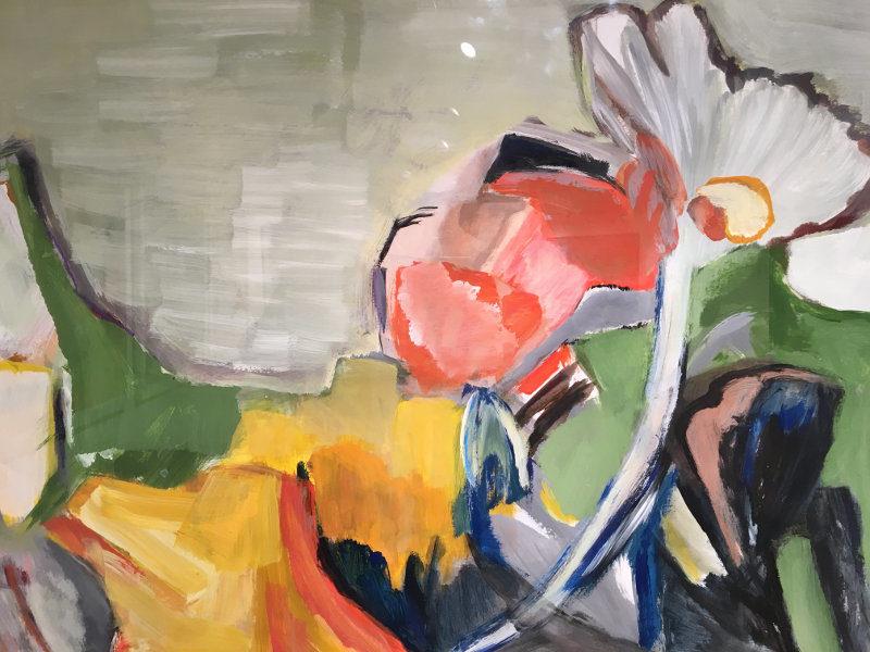 Blumen im Feld: Gemälde von Regina Baumann-Koschate