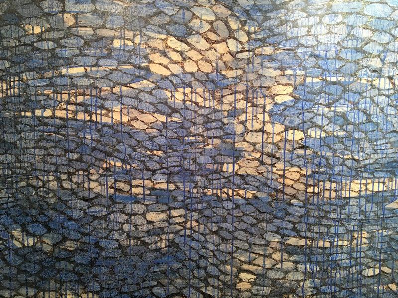 Wasser - Gemälde von Regina Baumann-Koschate