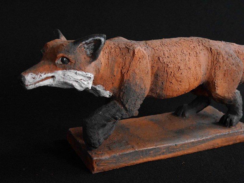 Keramik Fuchs Mikkel von Margit Hohenberger