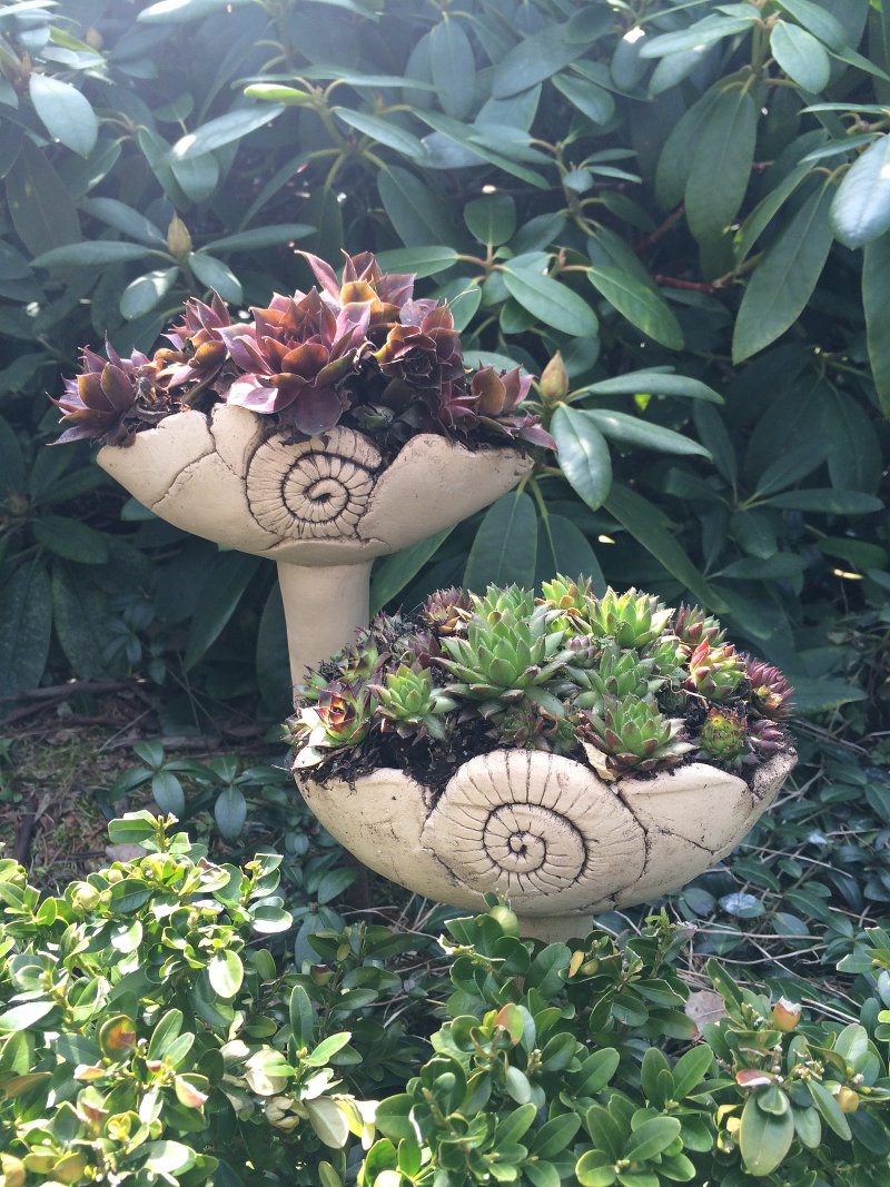 gartenstecker keramik selber machen