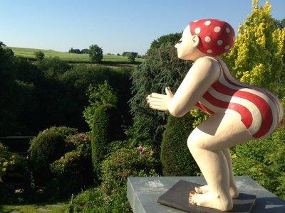 gartenfiguren | margit hohenberger | keramik kunst, Terrassen ideen